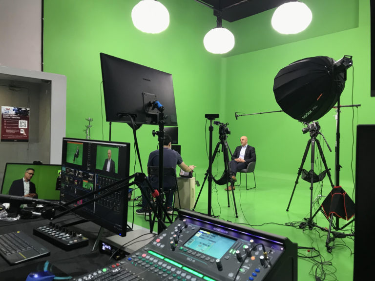 Live production for events in Virtual Studio